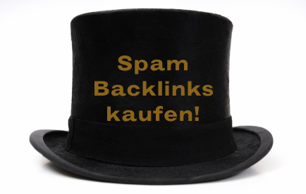 Spamlinks, böse Backlinks